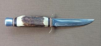 """Нож охотничьий , """"никер"""" клеймо SOLINGEN , Bonsa , Germany."""
