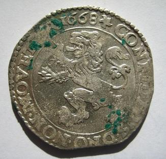 Талер левковый 1668 г.