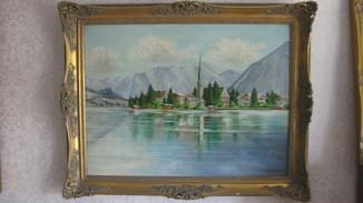 Озеро у горы
