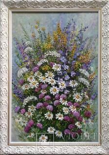 Картина натюрморт Барви літа Короткова Т.Г. 40х60см холст, масло