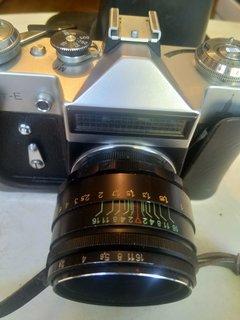 Фотоаппарат Zenit Helios 44-2 58 mm с олимпийской символикой