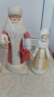 Дед мороз і снегурка СССР