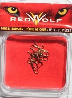 Крючки Red Wolf №14 (25шт. в пачке)