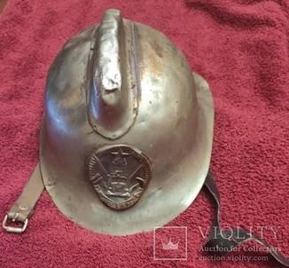Шлем пожарного СССР
