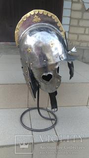 Шлем Польского крылатого гусара 17 век. (Копия)