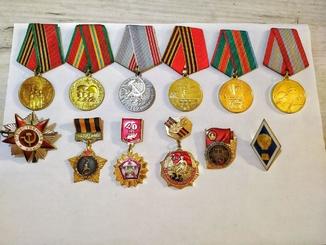 Нагороди СРСР з документами