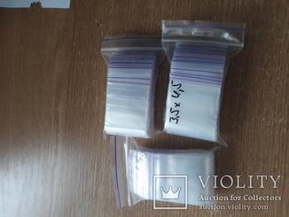 Пакет струна с замком Zip-Lock 3,5х4,5 ( 300 шт )