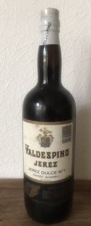 "Херес,,Valdespino""(Dulce). Іспанія 1984"