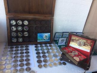 Коллекция монет Украины 120шт. в капсулах (10шт. серебро)