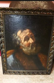 Картина маслом на холсте святой Апостол