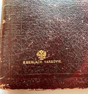Старинный транспортир Р. И. (G. Gerlach. Varsovie.) в оригинальной коробке