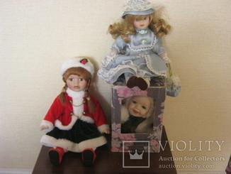Куклы.Европа 3 шт
