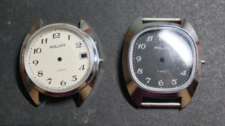 Два корпуса для часов Полет Poljot 17 камней СССР