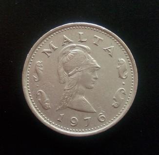 2 цента 1976 года, Мальта