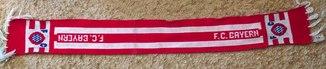 Футбольный шарф ФК Бавария (Германия)-вязаный