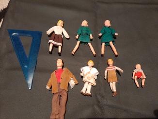 """Старинные куклы """"Семья""""в родной одежде"""