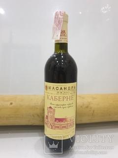 Масандра, Каберне, Вино ординарне сортове столове сухое червоне 0.75