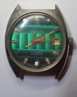 Часы VIALUX Waterresistant Antimagnetic Ingabloc