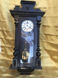 Часы настенные Gustav Becker большие