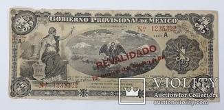 Мексика 1 песо 1914 год