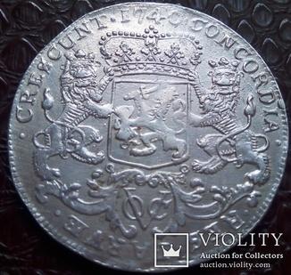 Дукатон Нідерландської Східної Індії 1740 року(о.ЯВА та інш...-знак VOC)
