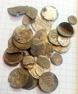 Лот монет средневековье 2