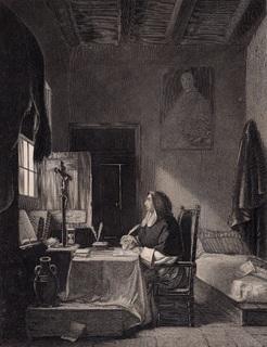 Старинная гравюра. 1860 годa. Савонарола. Пейн. (26,5х19,5см.).