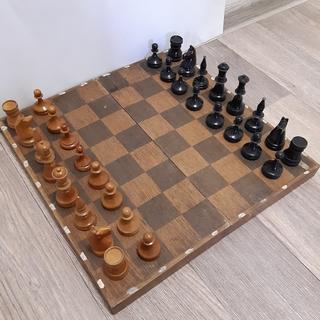 Шахматы деревянные, 1951г, СССР
