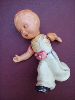 Кукла на резинках Мальчик из СССР.