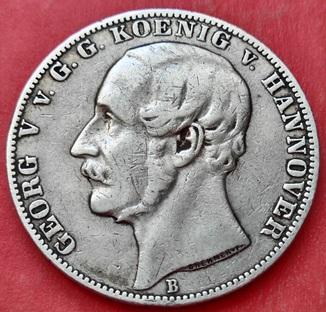 Талер 1860 год B, Ганновер