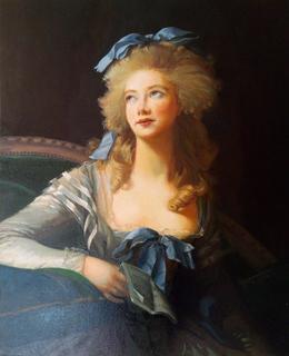 Копия Мадам Гранд,принцесса Беневена .Автор Мари-Элизабет-Луиза Виже-Лебрен(1755-1842)