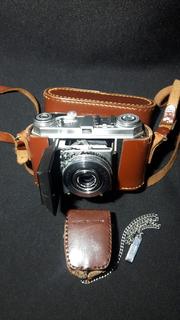 Фотоапарат KODAK-RETINA1a/1951-1954годов/+Фотоспышка Etalon-JAPAN