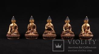 Набор из пяти Будд