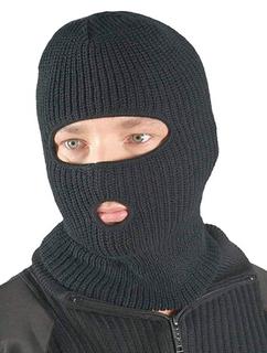 Шапка-маска (двойная вязка)