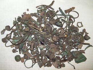 Різна металопластика більше 700грам