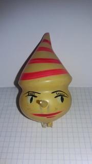 """Ретро елочная игрушка """"Голова Буратино"""" 40-50-е годы"""