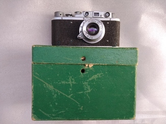 Фотоаппарат Фед + коробка + документы.