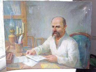 Портрет Т. Шевченко ,без рамы.Холст.Масло.