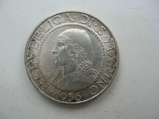 5 лир Сан-Марино 1936 года