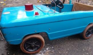 Машина на педалях СССР
