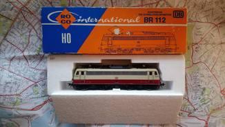 Электровоз локомотив BR 112  ROCO HO