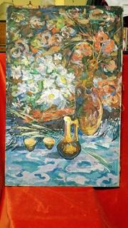 """""""Квіти поля"""",Д.А.Шайнога,м.Тернопіль,102×65 см."""