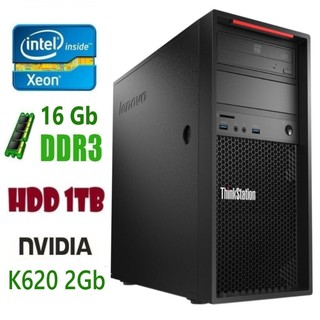 P300 Рабочая станция Lenovo ThinkStation E3-1225v3/DDR3 16Gb/1Tb/Nvidia Quadro K620 2Gb
