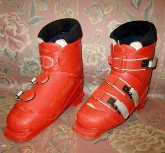 Лыжные ботинки разм 33