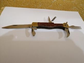 Складной нож 6 предметов ссср