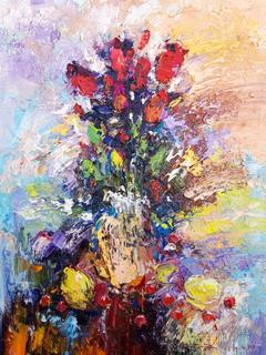 Квіти з фруктами
