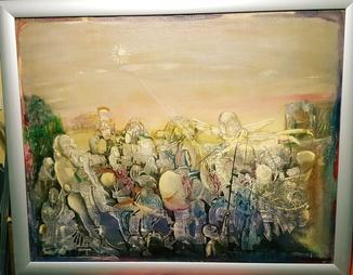 ''Білий Ангел'',М.В.Безпальків,80×100 см.,1988 р.