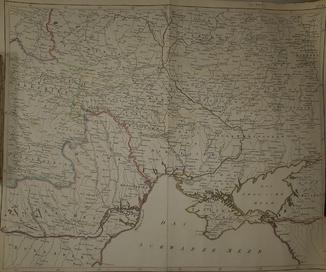 1780-е карта Украины