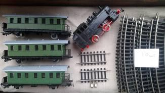 Железная дорога PICO рельсы вагоны