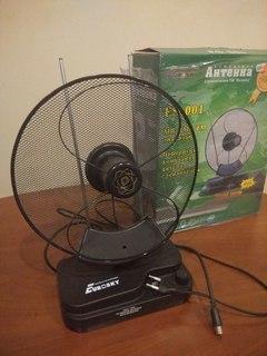 Комнатная антенна с усилителем Euroskay es-001